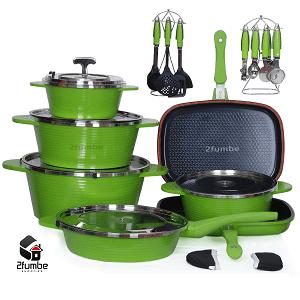 12 Pcs Granite Coating Cookware Set